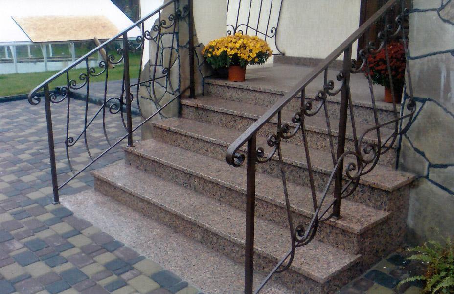 Лестницы и перила в Полтаве